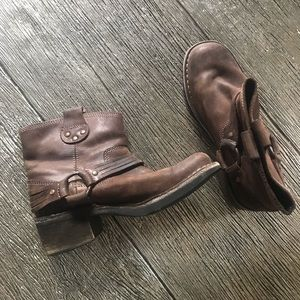 Fly London Leather Ankle Boots